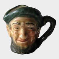 Tiny Royal Doulton Character Jug Auld Mac / D6257 / Tiny Character Jug / Vintage Royal Doulton