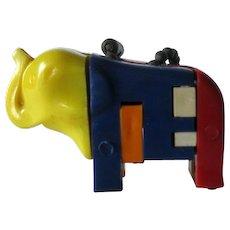 Elephant Key ring Puzzle / Vintage Key ring Puzzle / Vintage Elephant / Collectible Keyring Puzzle