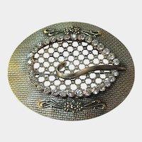 Sash Pin Buckle Style / Vintage Sash Pin