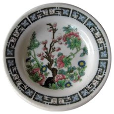 Shenango China New York New Haven & Hartford Railroad Butter Pat / Indian Tree Pattern Butter Pat / Collectible Railroad China