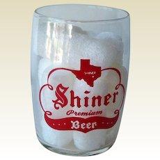 Shiner Barrel Beer Glass / Shorty 5 oz Beer Glass / Shiner Beer / Shiner Texas