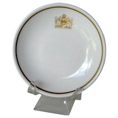 British Airways Coat-of-Arms Butter Pat / Royal Doulton Butter Pat / Bone China Butter Pat