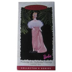 Hallmark Barbie Featuring he Enchanted Evening / 1996 Handcrafted Barbie / Collectors Series Barbie