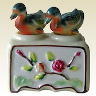 Vintage Nodder Shaker Set Ducks - Figural Salt and Pepper Shakers - Housewarming Gift - Salt Shaker Set - Couples Gift