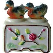 Vintage Nodder Shaker Set Ducks - Figural Salt and Pepper Shakers - Housewarming Gift - Salt Shaker Set - Couples Gift
