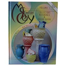 McCoy Pottery Collector's Reference & Value Guide - McCoy Pottery Volume 1 - Price Guide