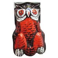 Owl Halloween Clicker Noisemaker / Owl Clicker / Vintage Halloween / Halloween Decor