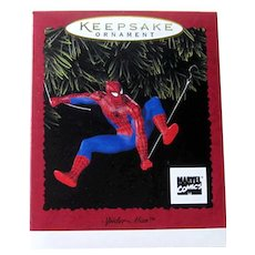 Spider-man Hallmark Ornament 1996 / Vintage Spider-man / Vintage Christmas / Christmas Decor