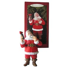 Hallmark Welcome Guest Coca-Cola Santa / 1996 Hallmark Ornament / Vintage Santa / Vintage Coke Ornament / Holiday Decor