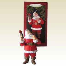 Hallmark Welcome Guest Coca-Cola Santa / 1996 Hallmark Ornament / Vintage Santa / Vintage Coke Ornament / Holiday Decor