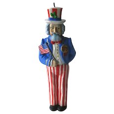 Vintage Nutcracker Ornament - Uncle Sam - Uncle Sam Nutcracker Ornament - 1988 Hallmark Ornament - - Vintage Hallmark Ornament