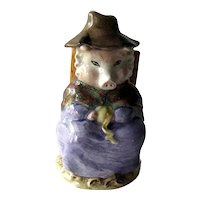 Beatrix Potter And This Pig Had None Figurine - Royal Albert