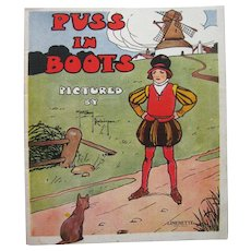 Puss in Boots Pictured by Gordon Robinson