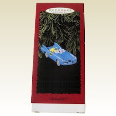 Batmobile Hallmark Ornament - Vintage Batmobile - Superheros Ornament