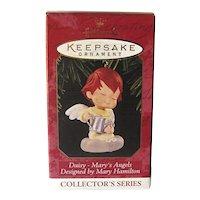 Hallmark Ornament Mary's Angel Daisy Tenth in Series
