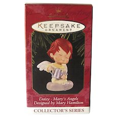 Hallmark Ornament Mary's Angel Daisy Tenth in Series