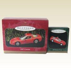 1997 Corvette Hallmark Ornaments Americas Sports Car