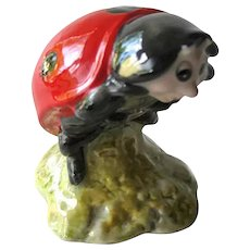 Mother Ladybird Beatrix Potter Figurine with Royal Albert Mark