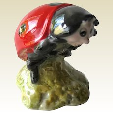 Mother Ladybird Beatrix Potter Figurine with Royal Albert Mark