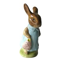 Mrs. Flopsy Bunny Beatrix Potter Figurine