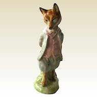 Foxy Whiskered Gentleman Beatrix Potter Figurine