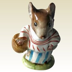 Mrs Tittlemouse Beatrix Potter  Figurine Beswick Backstamp