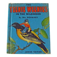 Vintage Childrens Book The Teenie Weenies in the Wildwood