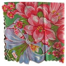 Burmel Handkerchief of the Month - Unused Cut Work Hankie