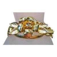 Unique Coro Pegasus Rose Bracelet