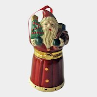 Santa Hallmark Ornament - Santas Hidden Surprise - Collectible Holiday Ornament - Christmas Decor - Stocking Stuffer