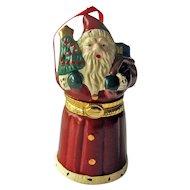 Santa Hallmark Ornament - Santas Hidden Surprise - Collectible Holiday Ornament - Christmas Decor - Stocking Stuffer