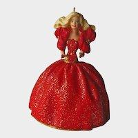Barbie Hallmark Ornament - Collectors Series - 1993 Barbie Ornament - Vintage Barbie - First Edition