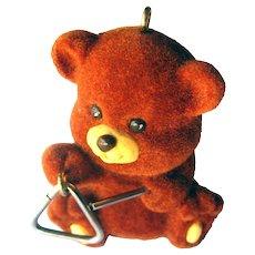 Hallmark Bear-I-Tone Ornament - Bear Collectible - Christmas Decor - Gift for Kids