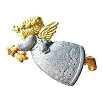 Danecraft Angel Pin - Collectible Angel - Vintage Jewellery