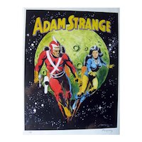 Adam Strange Poster - Adam Strange and Wife Alanna - Collectible Poster