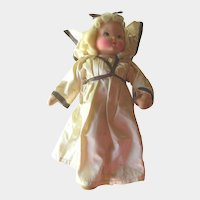 Krueger Musical Angel Doll -Richard Krueger Mask Face Doll - Angel Doll - Music Box Doll