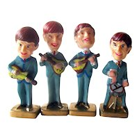 Beatles Nodders - Beatles Bobble Heads - Cake Toppers - Beatles Memorabilia