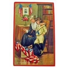Tuck Decoration Day Postcard - Tuck's Patriotic Postcard - Vintage Card - Collectible Postcard