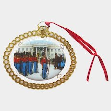 White House Christmas Ornament 1994 - President Polk - Vintage Ornament