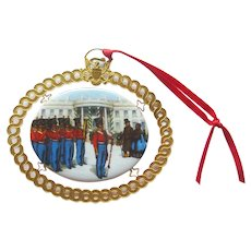 White House Christmas Ornament 1994 - President Polk - Vintage Ornament