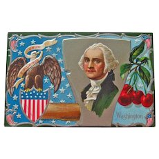 Nash George Washington Postcard - Father of Our Country Postcard - Vintage Postcard