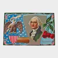 Winsch George Washington Postcard - Father of Our Country Postcard - Vintage Postcard