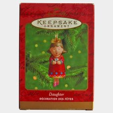 Hallmark Daughter Ornament:Porcelain Ornament:Collectible Ornament:Gift for Daughter