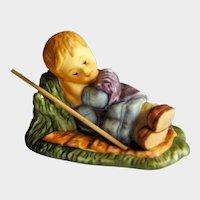 Berta Hummel Goebel Sleeping Shepherd Figurine - Hummel Nativity - Collectible Goebel