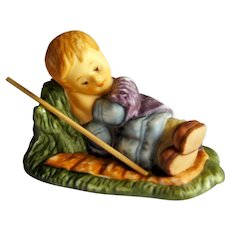 Berta Hummel Goebel Sleeping Shepherd Figurine - Hummel Nativity - Collectible Goebel