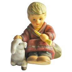 Berta Hummel Goebel Sitting Shepherd Figurine - Hummel Nativity - Collectible Goebel