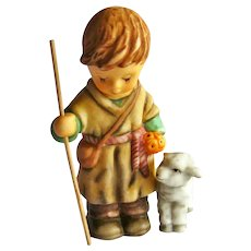 Berta Hummel Goebel Shepherd with Lamb Figurine - Hummel Nativity - Collectible Goebel
