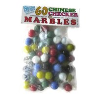 Chinese Checker Marbles - Steven Marbles - Glass Marbles