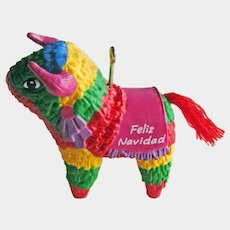 Hallmark Pinata Ornament - Feliz Navidad - Christmas Collectible
