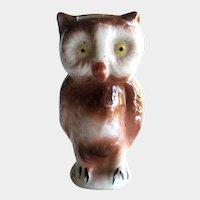 Owl Razor Blade Keeper / Occupied Japan Owl / Razor Blade Bank